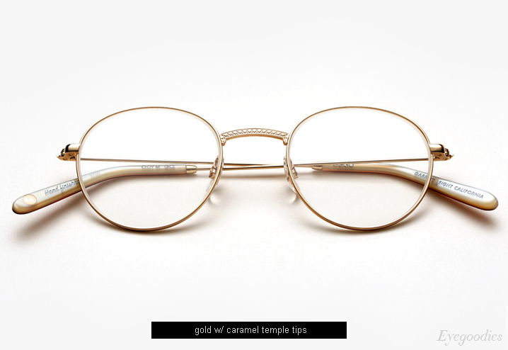 Garrett Leight Cloy eyeglasses - Gold