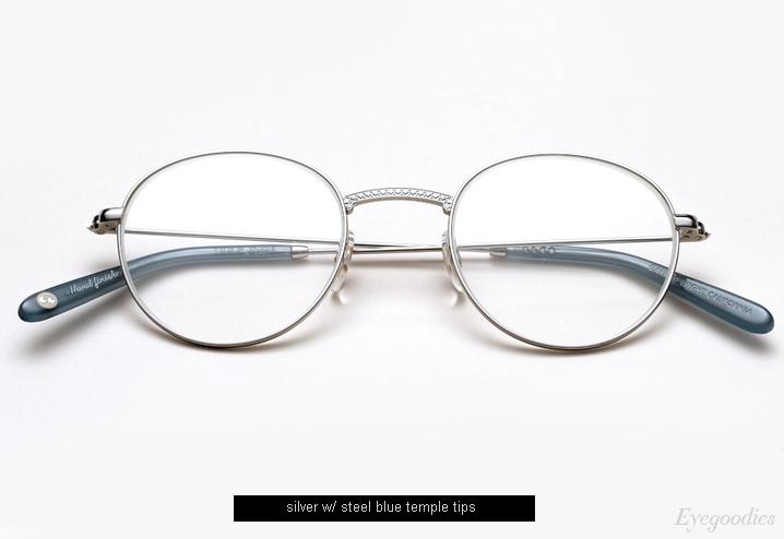 Garrett Leight Cloy eyeglasses - Silver