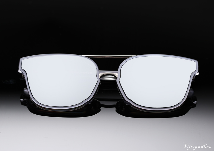 Super Akin Forma Silver sunglasses