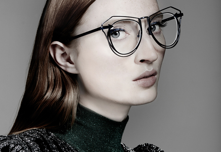 Karen Walker Marguerite eyeglasses