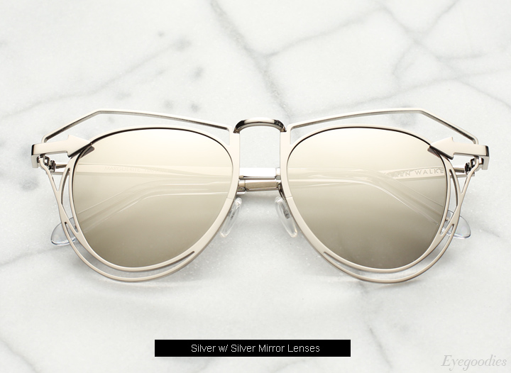 Karen Walker Marguerite sunglasses - Silver