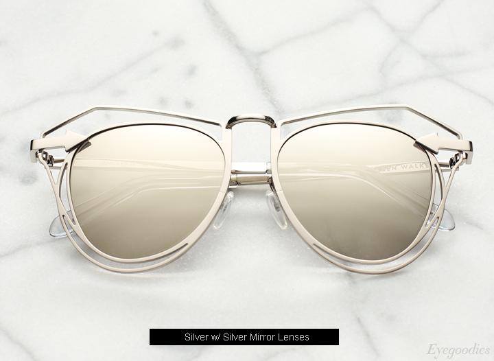 Karen Walker Marguerite sunglasses - Silver