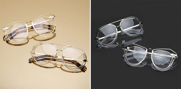 karen walker eyeglasses - Metals Collection