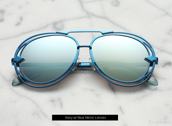 Karen  Walker Jacqes sunglasses - Navy
