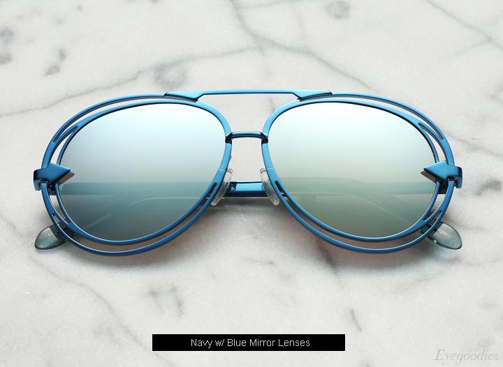 Karen  Walker Jacqes sunglasses - Navy