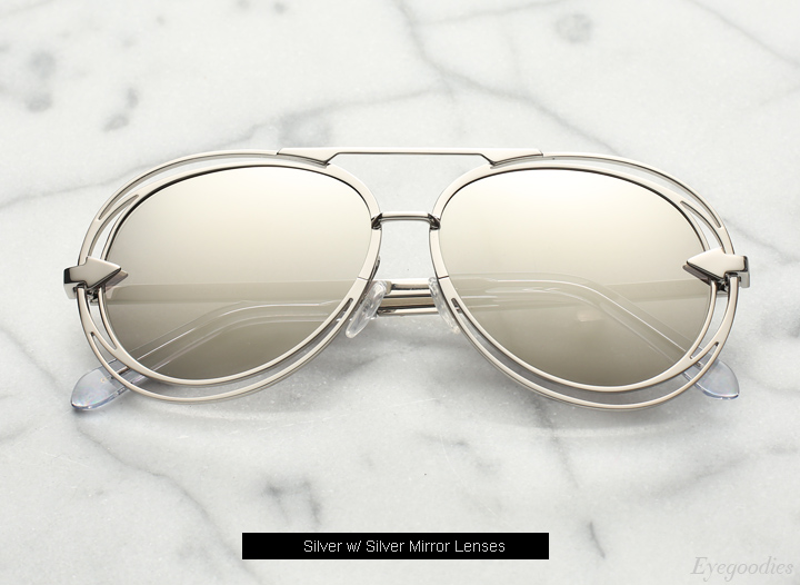 Karen  Walker Jacqes sunglasses - Silver