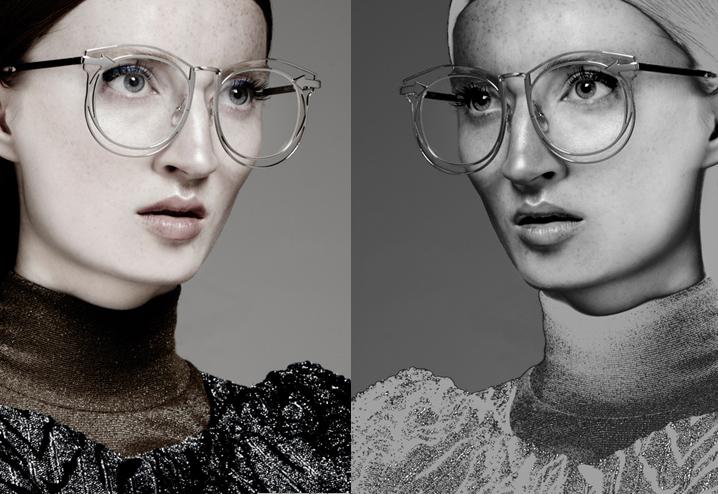 Karen Walker Simone eyeglasses