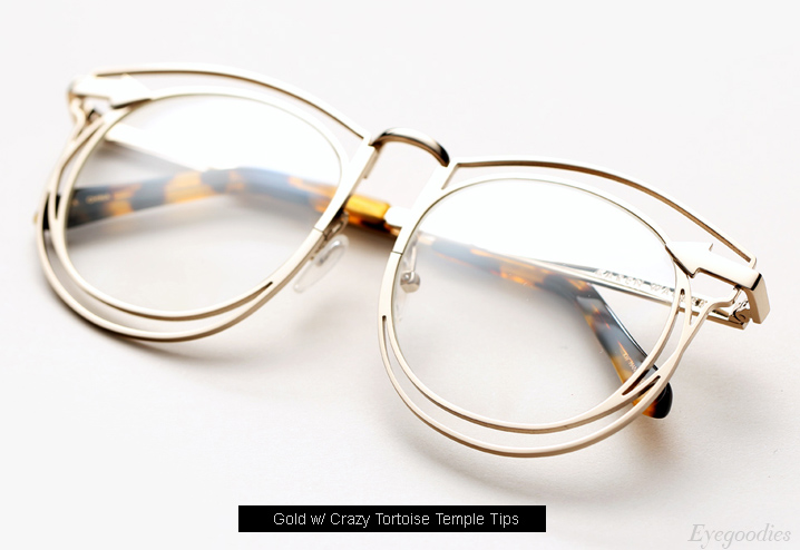 Karen Walker Simone eyeglasses - Gold