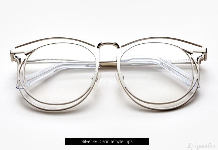 Karen Walker Simone eyeglasses - Silver