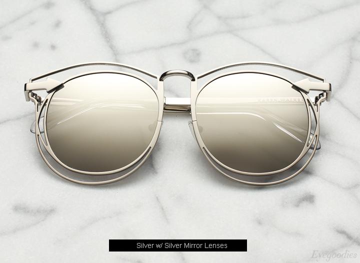 Karen Walker Simone sunglasses - Silver