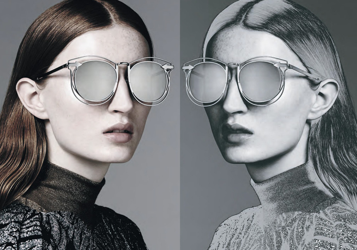Karen Walker Sunglasses - Metals