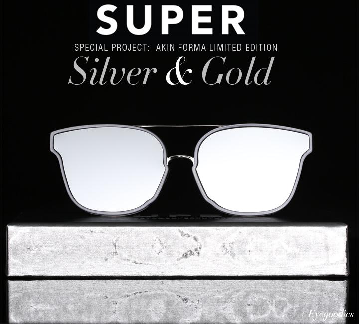 Super Special Akin Forma Silver & Gold Sunglasses
