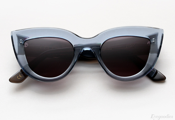 Ellery Quixote sunglasses - Crystal Grey