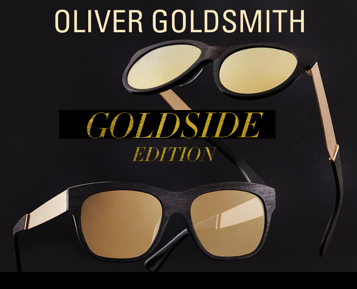 Oliver Goldsmith Goldside Edition Sunglasses