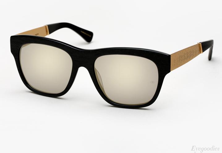 Oliver Goldsmith Lord Goldside Sunglasses - Raw Black