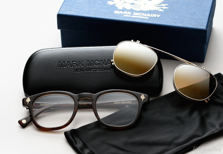 Garrett Leight X Mark McNairy, Valdese sunglasses