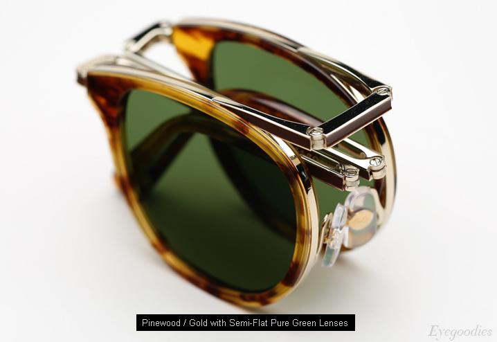 Garrett Leight Van Buren Combo sunglases - Pinewood