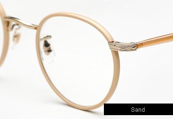 Garrett Leight Wilson eyeglasses - Sand