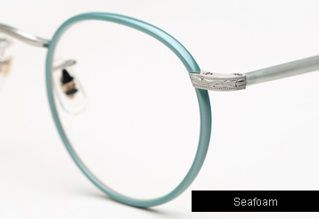 Garrett Leight Wilson eyeglasses - Seafoam