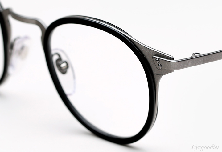 Super Numero 20 Nero eyeglasses