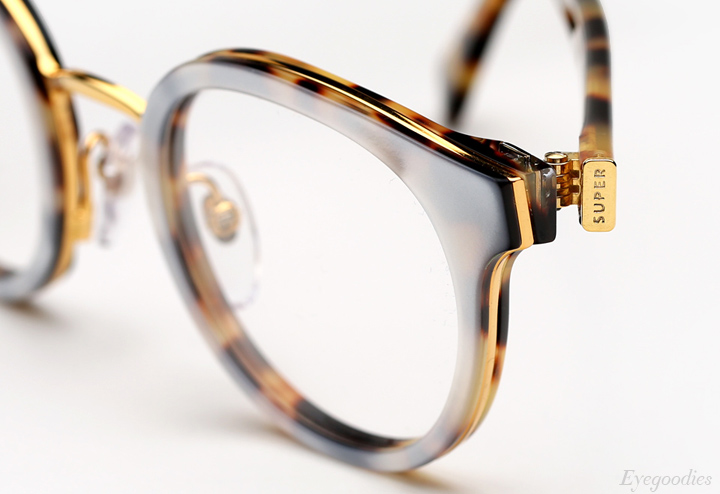 Super Numero 22 Madreperla Sol Leone eyeglasses