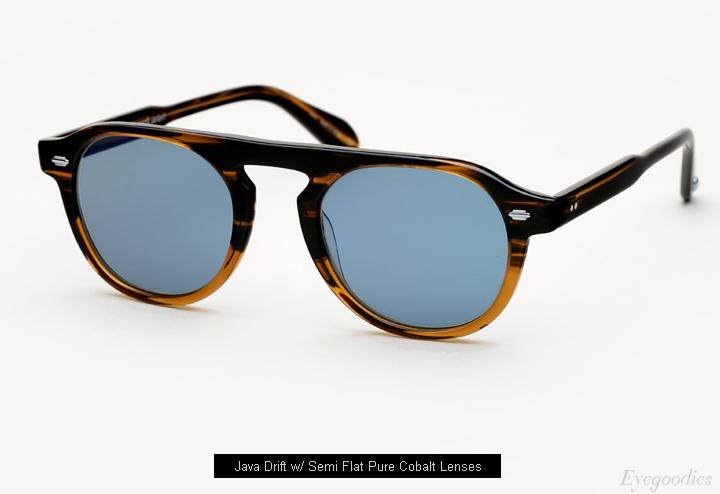 Garrett Leight X Nick Wooster, Harding - Horn sunglasses
