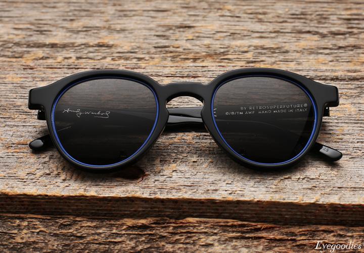 Super The Iconic Impero Blue sunglasses