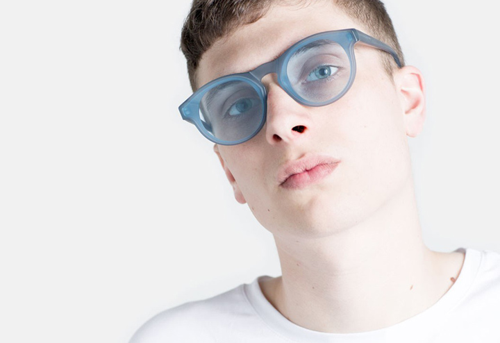 Super Boy Forma Blue sunglasses