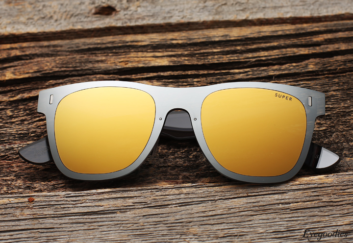 Super Duo Lens Basic Gold Silver sunglasses