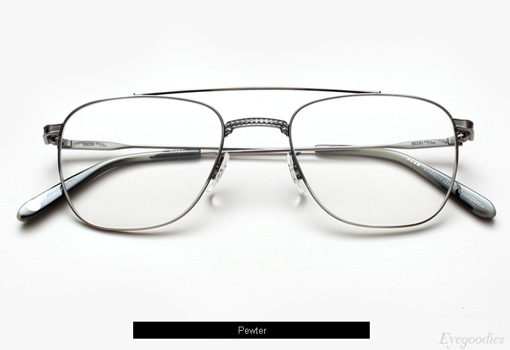 Garrett Leight Riviera eyeglasses - Pewter