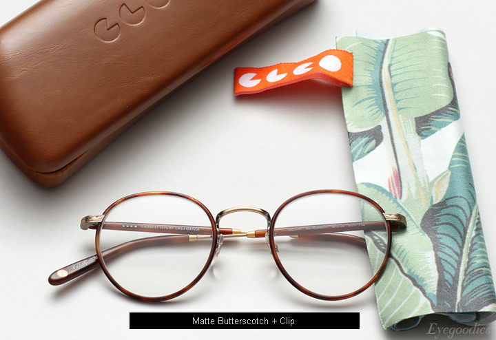 Garrett Leight Wilson eyeglasses - Matte Butterscotch