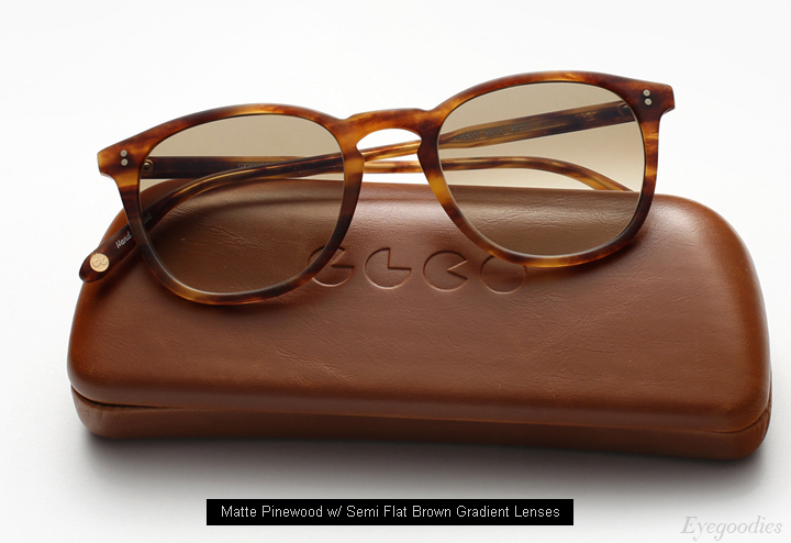 Garrett Leight Kinney sunglasses - Matte Pinewood
