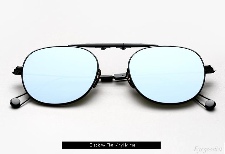 Garrett Leight Van Buren M sunglasses - Black