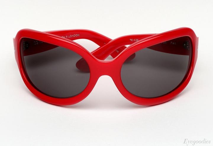 Oliver Goldsmith Yuhu Sunglasses - Red