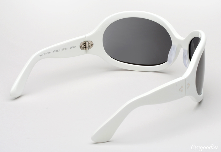 Oliver Goldsmith Yuhu Sunglasses - White