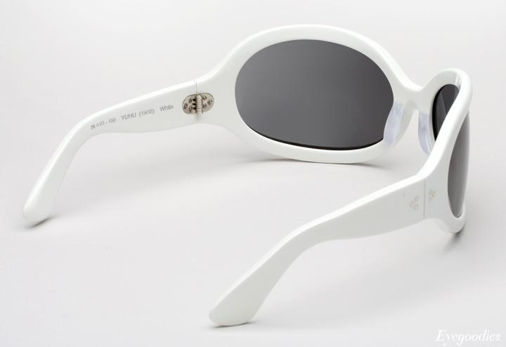 Oliver Goldsmith Yuhu Sunglasses - White