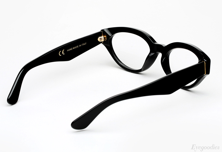 Super Drew Black Eyeglasses