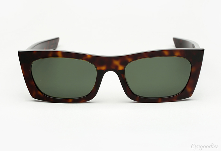 Super Fred 3627 Green Sunglasses