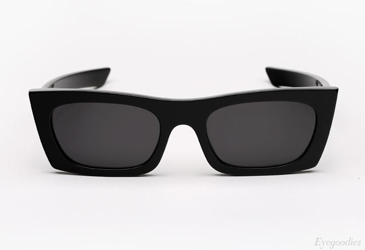 Super Fred Black Sunglasses