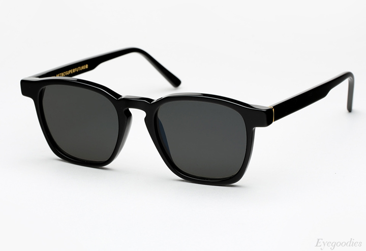 Super Unico Black Sunglasses
