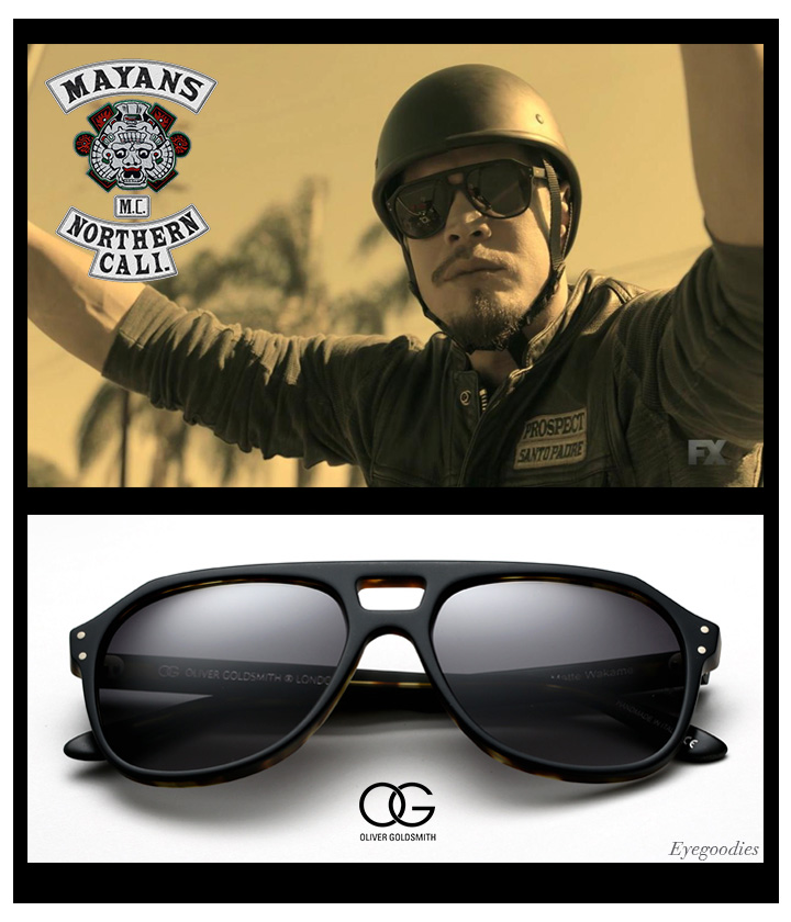 Mayans M.C. sunglasses - Oliver Goldsmith Sunglasses