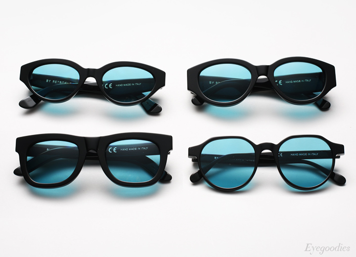 Super Black Turquoise sunglasses
