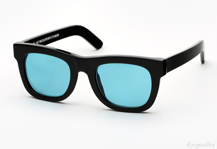 Super Ciccio Black Turquoise sunglasses
