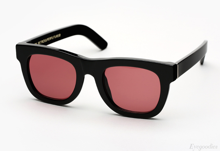 Super Ciccio Bordeaux sunglasses