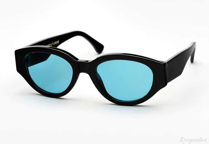 Super Drew Mama Black Turquoise sunglasses