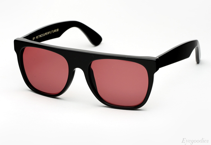 Super Flat Top Bordeaux Sunglasses