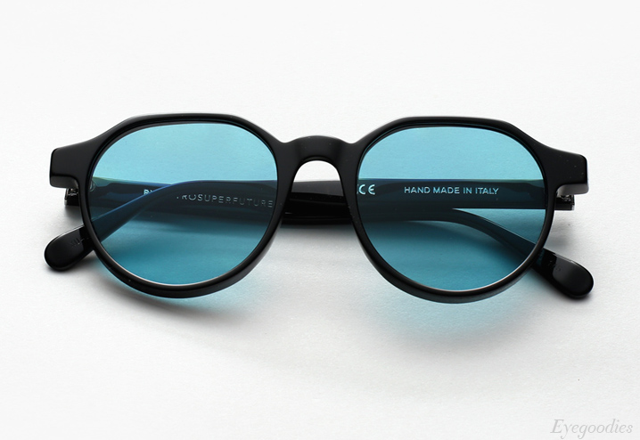 Super Noto Black Turquoise sunglasses