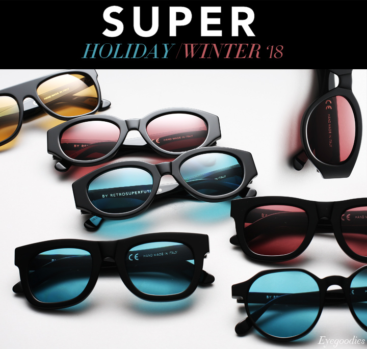 Super Sunglasses Winter 2018