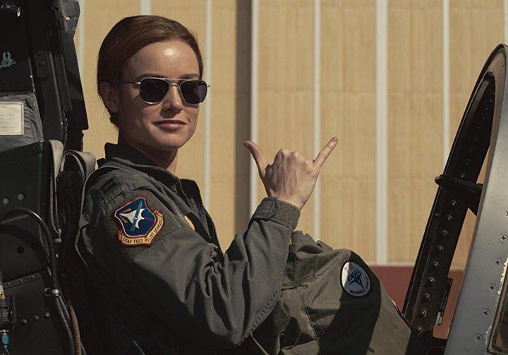 Captain Marvel Aviator Sunglasses