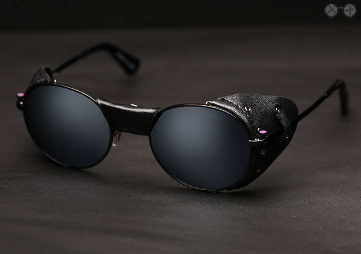 Paul Smith Alrick X Eygoodies Custom Projects: Black Ice sunglasses